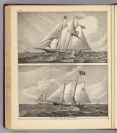 Pilot boat, E.G. Knight off Cape May, N.J. (with) Pilot boat, Whilldin, off Cape May. (Philadelphia, Woolman & Rose, 1878).