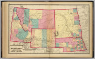 Atlas of the United States. Nebraska, and the territories of Dakota, Idaho, Montana and Wyoming. (Published by Stedman, Brown & Lyon, Cincinnati. 1872. Entered ... 1872, by H.F. Walling, and O.W. Gray, and H.H. Lloyd & Co. ... Washington)