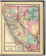 Atlas of the United States. California and Nevada. (Published by Stedman, Brown & Lyon, Cincinnati. 1872. Entered ... 1872, by H.F. Walling, and O.W. Gray, and H.H. Lloyd & Co. ... Washington)