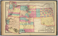 Atlas of the United States. Kansas, and the territories of Arizona, Colorado, New Mexico, Utah, and Indian Territory. (Published by Stedman, Brown & Lyon, Cincinnati. 1872. Entered ... 1872, by H.F. Walling, and O.W. Gray, and H.H. Lloyd & Co. ... Washington)