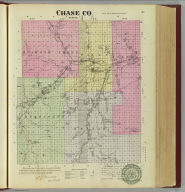 Chase Co., Kansas. L.H. Everts & Co., publishers, Phila., Pa., (1887)