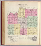 Johnson Co., Kansas. L.H. Everts & Co., publishers, Phila., Pa. (1887)