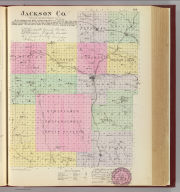 Jackson Co., Kansas. L.H. Everts & Co., publishers, Phila., Pa. (1887)