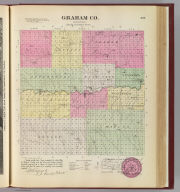 Graham Co., Kansas. L.H. Everts & Co., publishers, Phila., Pa. (1887)