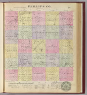 Phillips Co., Kansas. L.H. Everts & Co., publishers, Phila., Pa. (1887)
