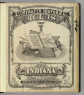 Title Page: Illustrated historical atlas of the State of Indiana.
