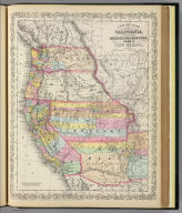 A new map of the state of California, the territories of Oregon, Washington, Utah and New Mexico. Published by Charles Desilver, no. 251 Market Street, Philadelphia. Entered according to Act of Congress in the year 1856 by Charles Desilver in the ... District Court of the eastern district of Pennsylvania. (1857)