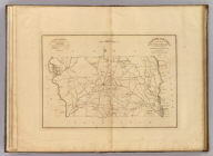 Chester District, South Carolina. Surveyed By Charls. Boyd D.S., 1818. Improved for Mills' Atlas, 1825. H.S. Tanner Sc.