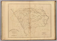 Chesterfield District, South Carolina. Surveyed By John Lowry, 1819. Improved for Mills' Atlas, 1825. Engd. by H.S. Tanner & Assistants.