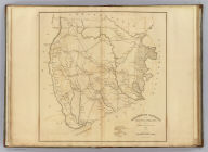 Darlington District, South Carolina. Improved for Mills' Atlas: 1820. Engd. by H.S. Tanner & Assistants.