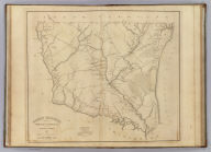 Horry District, South Carolina. Surveyed by Harlee, 1820. Improved for Mills' Atlas 1825. Engd. by H.S. Tanner & Assistants.