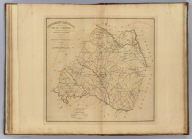 Newberry District, South Carolina. Surveyed by M. Coate, 1820. Improved for Mills' Atlas: 1825. Engd. by H.S. Tanner & Assistants.