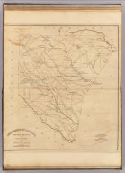 Spartanburgh District, South Carolina. Surveyed by J. Whitten, 1820. Improved for Mills' Atlas, 1825. Engd. by H.S. Tanner & Assistants.