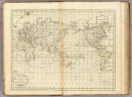 A Chart of the World According to Mercators Projection. Shewing the latest Discoveries of Capt. Cook. William Barker sculp. Engrav'd for Carey's American Edition of Guthrie's Geography improved.