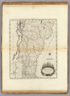 Vermont From actual Survey. Delineated & Engraved by Amos Doolittle N.H. Engraved for Carey's American Edition of Guthrie's Geography improved.