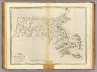 The State of Massachusetts. Compiled from the best Authorities By Samuel Lewis. Engraved for Carey's American Edition of Guthrie's Geography improved by J.T. Scott.