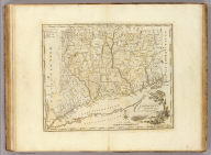 Connecticut From the best Authorities. Delineated & Engraved by A. Doolittle N. Haven. Engraved for Carey's American Edition of Guthrie's Geography Improved.