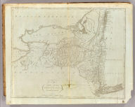 The State of New York, Compiled from the best Authorities, By Samuel Lewis. 1795. Harrison Junr. sc.