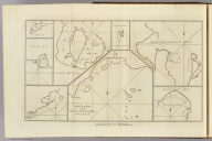 Cape Providence with the bay and anchoring places to the N.N.E. of it. (with) St. David's Cove. (with) Island Bay. (with) Puzling Bay. (with) Cape Upright Bay. (with) Dolphin Bay. (London: printed for W. Strahan, and T. Cadell in the Strand, MDCCLXXIII)