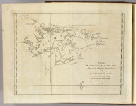 A chart of Hawkins's Maidenland, discovered by Sr. Richard Hawkins in 1574 and Falkland Sound, so called by Capn. John Strong of the Farewell from London who sailed through it in 1689. Isa: Noual sculp. No. 23. [London: printed for W. Strahan, and T. Cadell in the Strand, MDCCLXXIII).