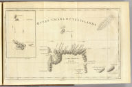 Queen Charlotte's Islands. Bayly sculpt. Jany. 1st, 1773. (London: printed for W. Strahan, and T. Cadell in the Strand, MDCCLXXIII).