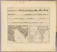 A plan of Success Bay in Strait le Maire. A chart of the S.E. part of Terra del Fuego including Strait le Maire and part of Staten-land by Lieutenant J. Cook 1769. T. Bowen & J. Gibson sculp. (London: printed for W. Strahan, and T. Cadell in the Strand, MDCCLXXIII).