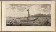 (A view of the island of Otaheite, with several vessels of that island). E. Rooker sculp. No. 4. (London: printed for W. Strahan, and T. Cadell in the Strand, MDCCLXXIII).