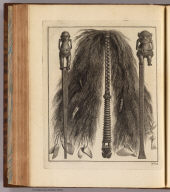 (Native implements, Ohiteroa and Otaheite). No. 12. (London: printed for W. Strahan, and T. Cadell in the Strand, MDCCLXXIII).