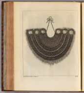 (A military gorget worn in the South Sea Islands). James Roberts, delin et sculpsit. No. 8. (London: printed for W. Strahan, and T. Cadell in the Strand, MDCCLXXIII).