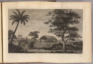 (A view in the island of Otaheite). W. Woollett sculp. No. 5. (London: printed for W. Strahan, and T. Cadell in the Strand, MDCCLXXIII).