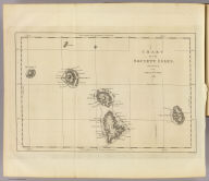 Chart of the Society Isles, discovered by Lieut. J. Cook, 1769. J. Cheevers sculpsit. (London: printed for W. Strahan, and T. Cadell in the Strand, MDCCLXXIII).