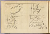 Matavia (i.e. Matavai) Bay in Otaheite. Owharre Harbour in Huaheine. Ohamaneno Harbour in Ulietea. Oopoa Harbour in Ulietea. J. Cheevers sculp. (London: printed for W. Strahan, and T. Cadell in the Strand, MDCCLXXIII).