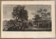 (A view in the island of Huaheine, with the Ewharra no Eatua or House of God). W. Woollett sculp. No. 6. (London: printed for W. Strahan, and T. Cadell in the Strand, MDCCLXXIII).