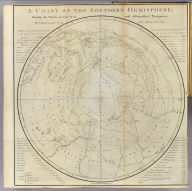 A chart of the Southern Hemisphere, shewing the tracks of some of the most distinguished navigators: by Captain James Cook of his Majesty's Navy. Gulielmus Whitchurch, sculpsit, Anno. 1776. Published Febry. 1st., 1777 by Wm. Strahan in New Street, Shoe Lane & Thos. Cadell in the Strand, London.