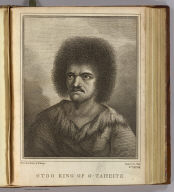 Otoo King of O-Taheite. Drawn from nature by W. Hodges. Engrav'd by J. Hall. No. XXXVIII. (London : Printed for W. Strahan, and T. Cadell in the Strand, MDCCLXXVII)