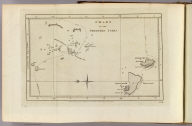 Chart of the Friendly Isles. No. XIV. Published Febry. 1st, 1777 by Wm. Strahan in New Street, Shoe Lane & Thos. Cadell in the Strand, London.