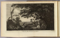 View in the island of Tanna. Drawn from nature W. Hodges. Engrav'd by W. Woollett. No. XXIX. Published Febry. 1st, 1777 by Wm. Strahan, New Street, Shoe Lane & Thos. Cadell, in the Strand, London.