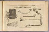 (Ornaments, weapons &c. at New Caledonia). Chapman, del. Record, sculp. No. XX. Published Feby. 1st, 1777 by Wm. Strahan in New Street, Shoe Lane & Thos. Cadell in the Strand, London.
