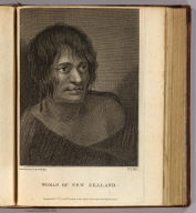 Woman of New Zealand. Drawn from nature by W. Hodges. No. LVIII. Publish'd Feby. 1st, 1777 by Wm. Strahan, New Street, Shoe Lane and Thos. Cadell in the Strand, London.