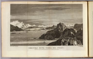 Christmas Sound, Tierra del Fuego. Drawn from nature by W. Hodges. Engrav'd by W. Watts. No. XXXII. Published Febry. 1st, 1777 by Wm. Strahan in New Street, Shoe Lane & Thos. Cadell in the Strand, London.