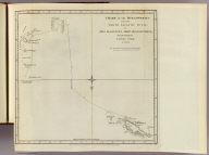 Chart of the discoveries made in the South Atlantic Ocean in his majesty's ship Resolution, under the command of Captain Cook in Jany. 1775. J. Russell sculp. No. IV. Published Febry. 1st, 1777 by Wm. Strahan in New Street, Shoe Lane & Thos. Cadell in the Strand, London.