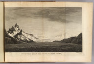 Possession Bay in the Island of South Georgia. Drawn from nature by W. Hodges. Engrav'd by S. Smith. No. XXXIV. Published Febry. 1st., 1777 by Wm. Strahan in New Street, Shoe Lane & Thos. Cadell in the Strand, London.