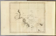 Kerguelen's Land called by C. Cook Island of Desolation. (with) Islands discovered by M. Marion du Fresne 1772 called by C. Cook in 1776 Prince Edward Isles. Writing by Harmar. (Drawn by Lieut. Henry Roberts. London: G. Nicol and T. Cadell, 1785)
