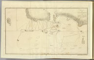 Sketch of Tongataboo Harbour, 1777. The writing engraved by Mw. Smith. (By William Bligh. London, G. Nicol and T. Cadell, 1785)