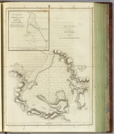 Plan of the Bay of Awatska on the east coast of Kamtschatka. (with) Plan of the harbour of St. Peter and St. Paul, surveyed by William Bligh, master of the Resolution. (Engraved by) W. H(arrison. London, G. Nicol and T. Cadell, 1785)