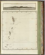 Part of Japan or Nipon. (with) View of the coast of Japan when we first saw it. (Engraved by) W. H(arrison after a missing survey possibly by Bligh and a view by Webber. London, G. Nicol and T. Cadell, 1785)