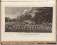 The natche, a ceremony in honour of the King's son, in Tongataboo. J. Webber del. Landscape by S. Middiman. Figures by J. Hall. (London, G. Nicol and T. Cadell, 1785)