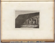 The inside of the house, in the morai, in Atooi. J. Webber del. Scott sculp. (London, G. Nicol and T. Cadell, 1785)