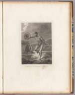 A man of the Sandwich Islands, dancing. J. Webber del. C. Grignion sc. (London, G. Nicol and T. Cadell, 1785)