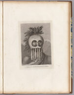 A man of the Sandwich Islands, in a mask. J. Webber del. T. Cook sculpt. (London, G. Nicol and T. Cadell, 1785)